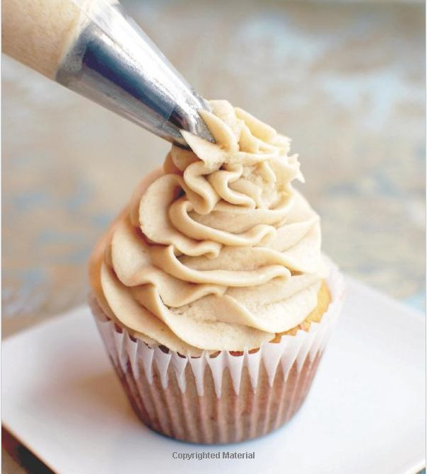 Vanilla Frosting - 1/2 cup palm shortening, 1/3 cup maple syrup, 2 teaspoons vanilla extract, 2 tablespoons arrowroot starch, 2 teaspoons coconut flour, sifted, pinch sea salt, 2 tablespoons coconut oil