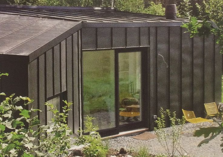 Holiday House: Architect - Paan Architects. Location - Väto, Sweden. Size - 42m.