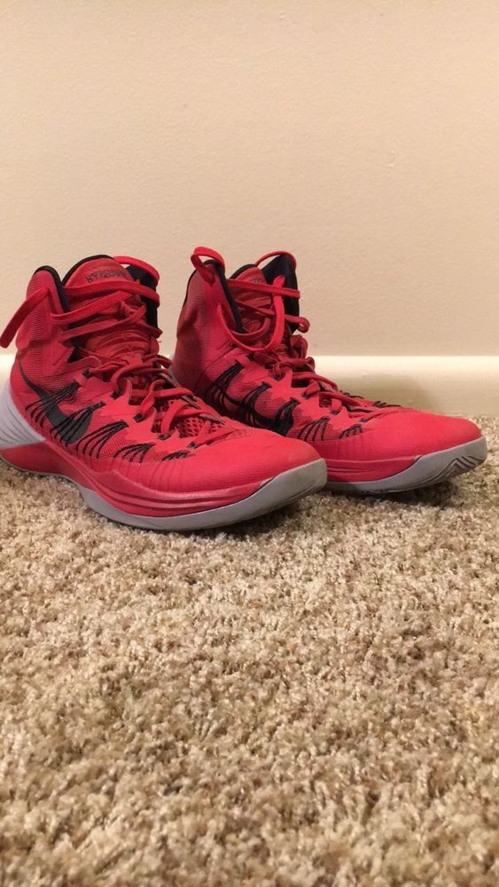 sale retailer 6939a ac839 NEW Nike Hyperdunk 2013 - Red Black Grey - 599537-600 Size 12 DS  fashion   clothing  shoes  accessories  mensshoes  athleticshoes (ebay link)