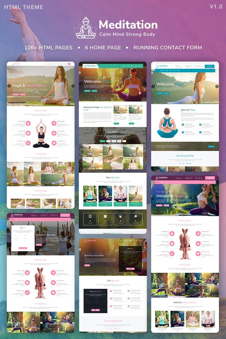 18 best Yoga Website Templates images on Pinterest | Website ...