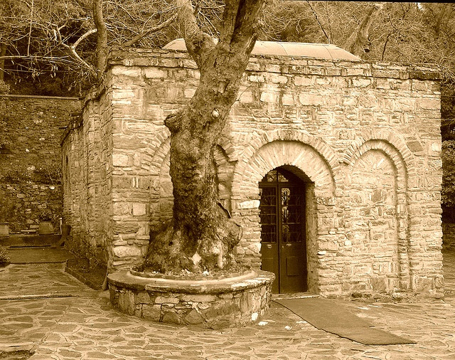 Virgin Mary's last home in Ephesus, Izmir Turkey