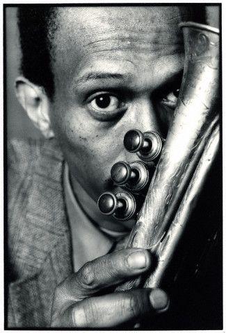 Don Cherry (1936-1995) - American jazz trumpeter. Photo by Deborah Feingold, 1982