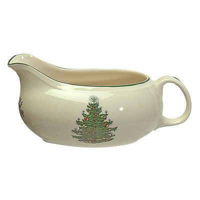 Cuthbertson Original Christmas Tree Traditional Gravy Boat