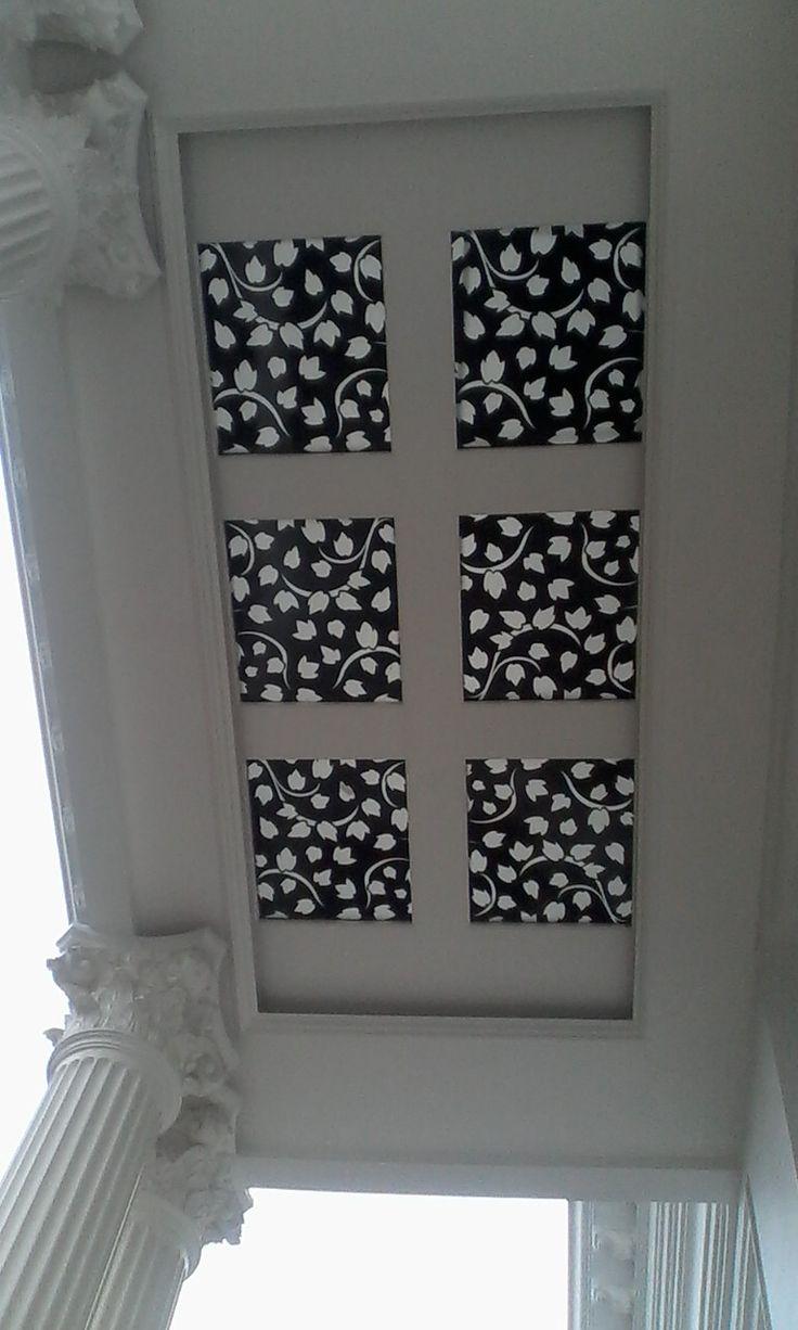 Proyek Hunian Kelapa Gading,  Material Acrylic dengan pengaplikasian pada Canopy
