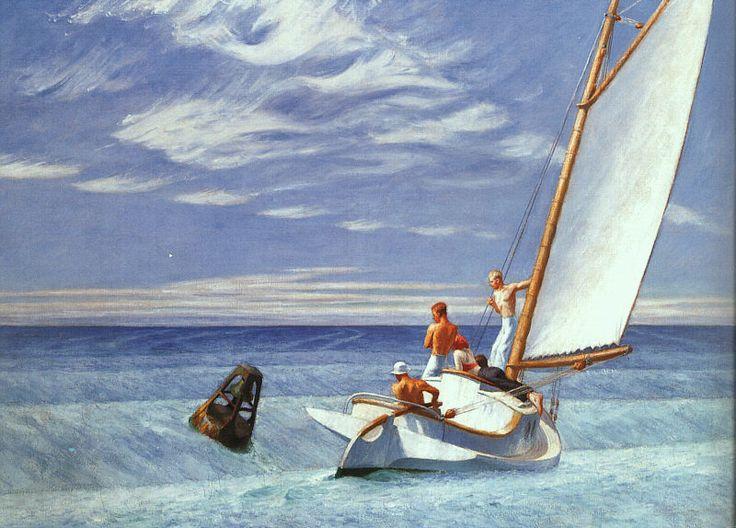 hopper peintre | partir de là, c'est à une peinture strictement de sujets ...