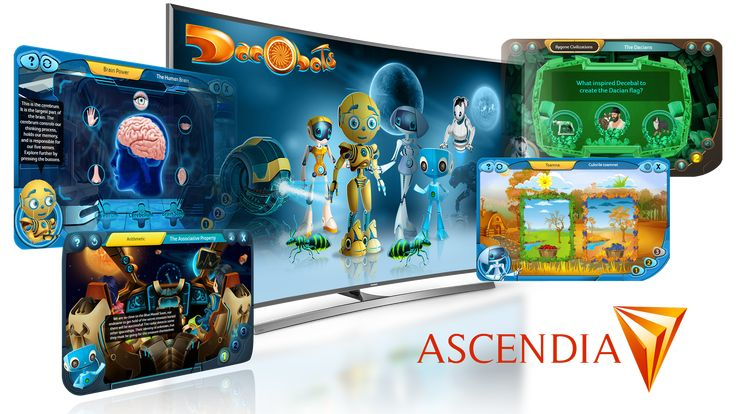 Samsung partners with Ascendia to bring #Dacobots eLearning games to Tizen TVs – Dacobots Community
