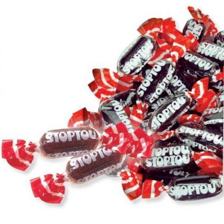 Retrouvez la véritable pastille Stoptou à la réglisse des années 80 !