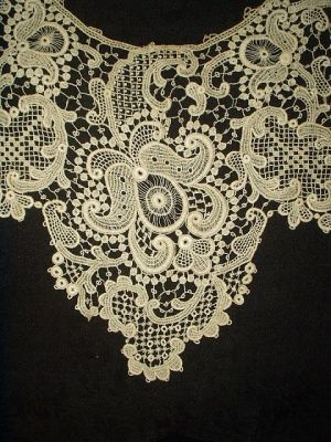 Victorian Lady Needlelace Lace