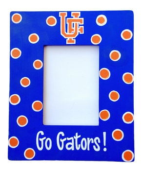 College Colors - Florida Gator Picture Frame