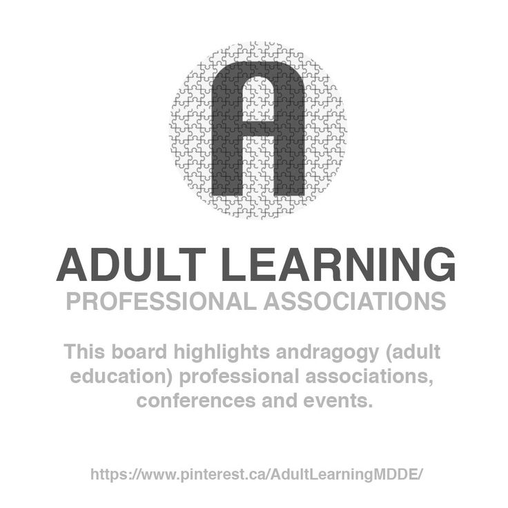 ADULT LEARNING / Board / Professional Associations