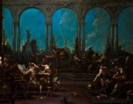 Robilant + Voena è presente alla Biennale des Antiquaires con uno stand che presenta delle novità di grande rilievo e che offre una selezione molto varia di dipinti dal XVI secolo fino ad artisti ai noi contemporanei. Un recentissimo ritrovamento è la grande tela di Alessandro Magnasco affollata