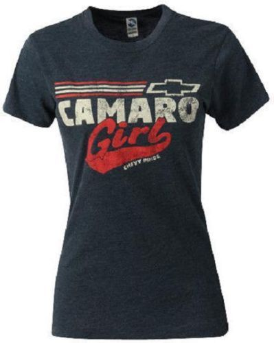 Ladies Camaro T Shirt Blue Camaro Girl Chevy Pride s XL 22 00 2XL New