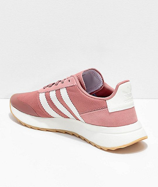 f0eb0713f07d72 adidas Flashback Raw Pink   White Shoes
