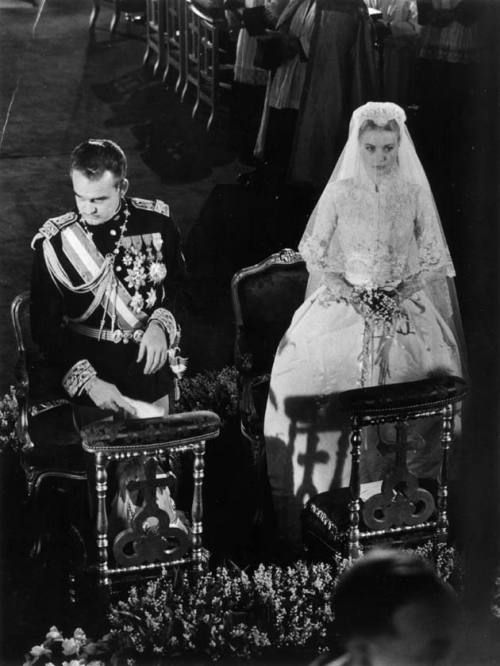 Foto di nozze Grace Kelly Ranieri di Monaco - da juliapgelardi.wordpress.com