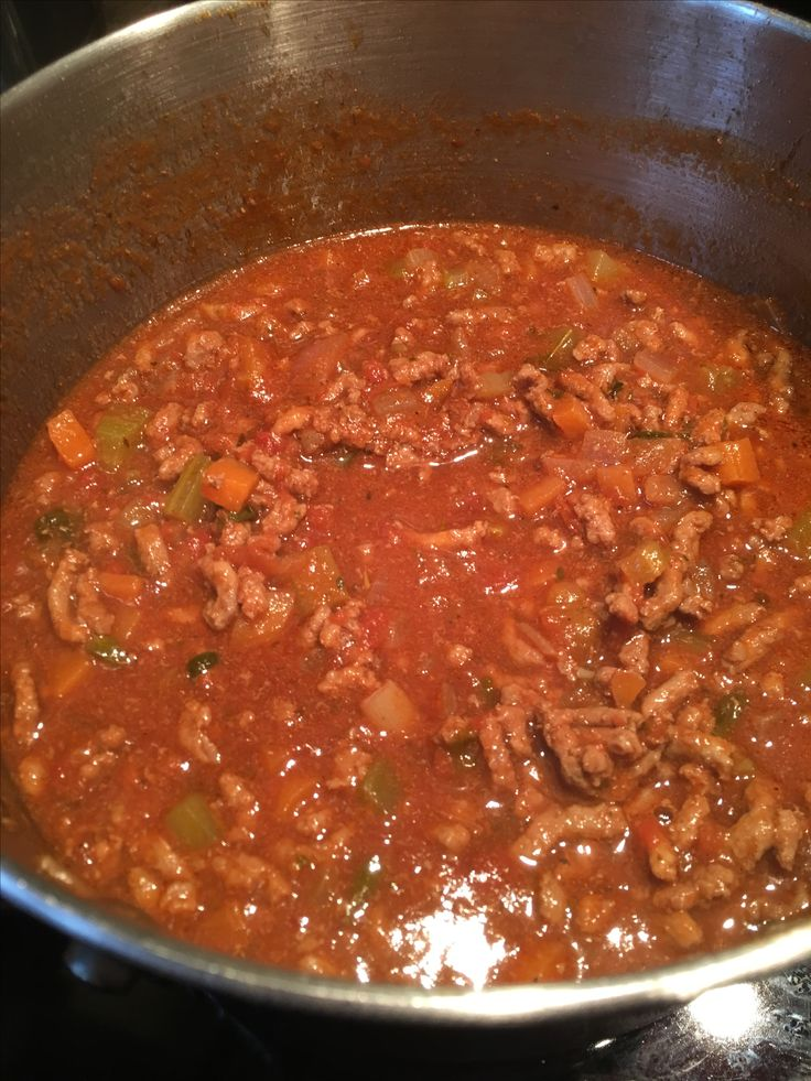 Slimming World friendly bolognaise sauce. Nom nom nom.