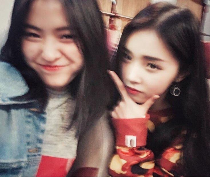 Rhujin x Eyedi they both are so prettyyy ✨ #신류진 #믹스나인 #JYP
