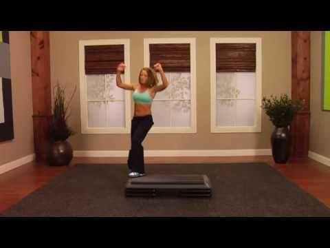 Step aerobic  workout 2