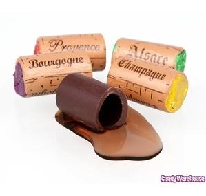 Wine Filled Chocolate Corks kynmerc