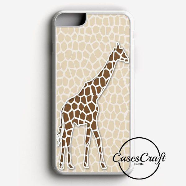 Giraffe Background Pattern iPhone 7 Case   casescraft