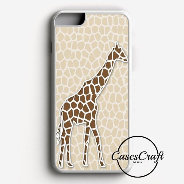 Giraffe Background Pattern iPhone 7 Case | casescraft