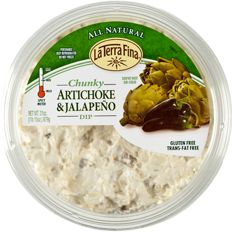 Artichoke jalapeno dip - Costco         -   Make your own       -   1 lb monterey jack cheese shredded  1 lb cream cheese cut into small chunks  1 cup mayonnaise  4 artichoke hearts finely minced  3 jalapeños finely minced  1 tsp chopped garlic  1/2 tsp salt  Directions:  Combine and mix well. Let chill overnight in refrigerators to combine flavors. Serve with veggies, bread, chips or crackers