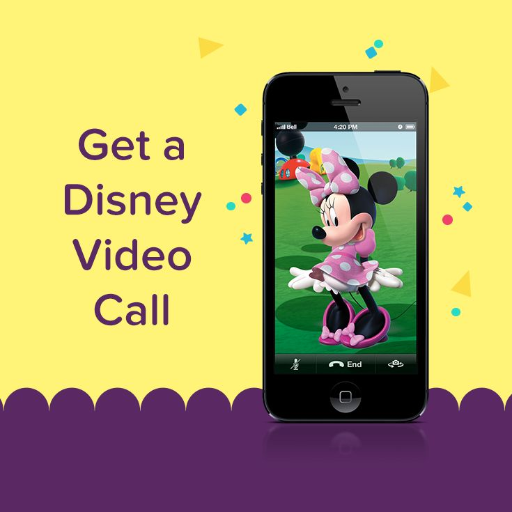 Looking for a new potty training incentive? Get a video call from your child's favorite Disney character to celebrate taking a potty break.