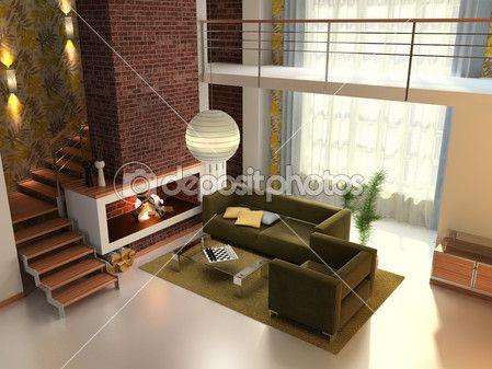 domácí interiér — Stock obrázek #4454088