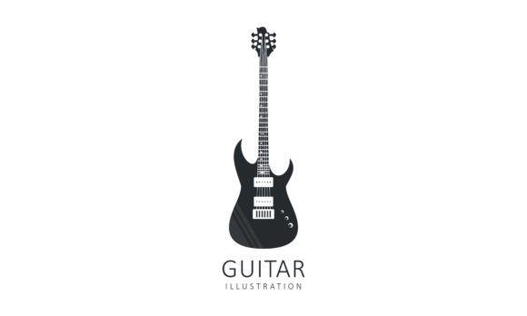 Acoustic Guitar Electric Guitar Design Graphic By Deemka Studio Creative Fabrica In 2020 Guitar Design Electric Guitar Design Guitar Illustration