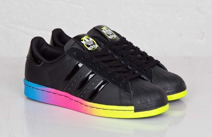 """Rita Ore x adidas Originals Superstar 80s """"Rainbow Sole"""""""