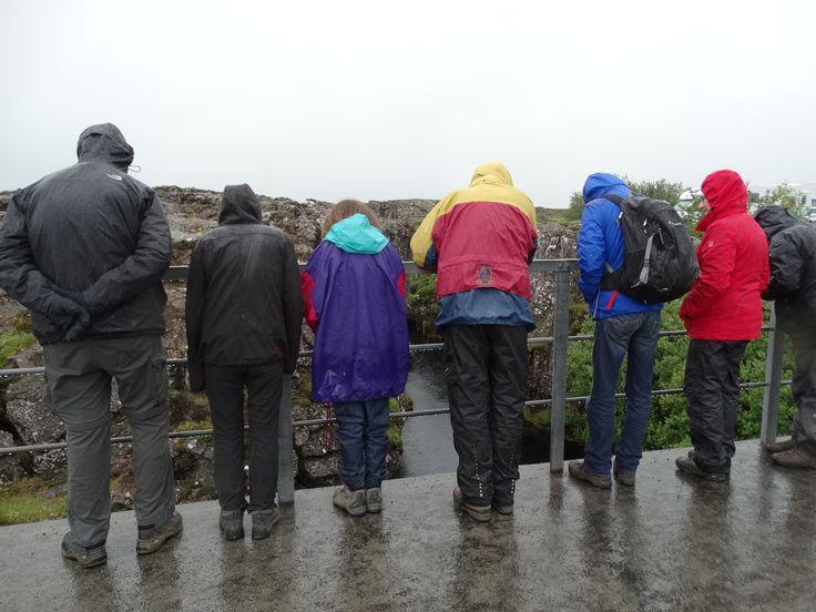 Ja, het regent... #Pingvellir #ijsland