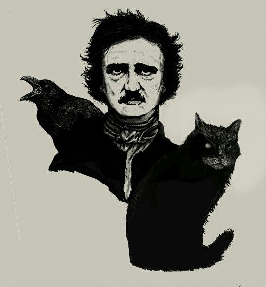 "''And now was I indeed wretched beyond the wretchedness of mere Humanity."" - Edgar Allan Poe, ""The Black Cat"""
