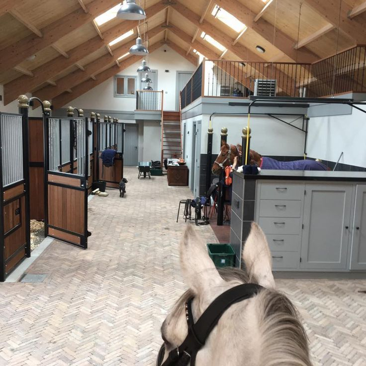 To have a small office above your stable, to relax or work to the sound of your horses