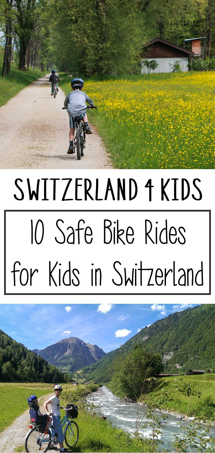 10 Safe Places to Bike with Kids in Switzerland