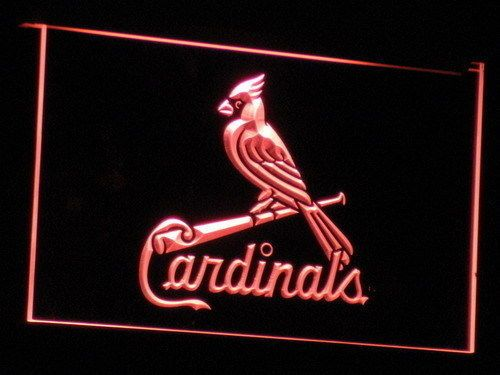 St. Louis Cardinals Sign Led Signs Neon Signs Home Man Cave B143-R