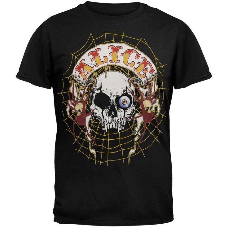 Alice Cooper - Skull Web Tour T-Shirt