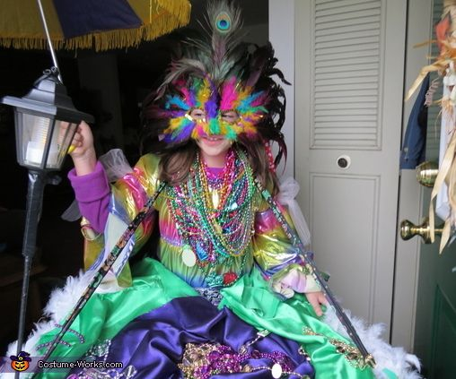 how to make a mardi gras costumes ideas