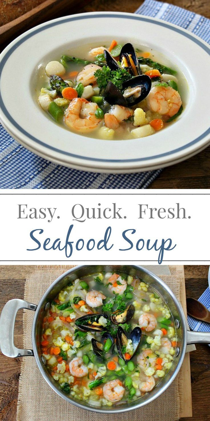 Fresh Seafood Soup | Simply Fresh Dinners