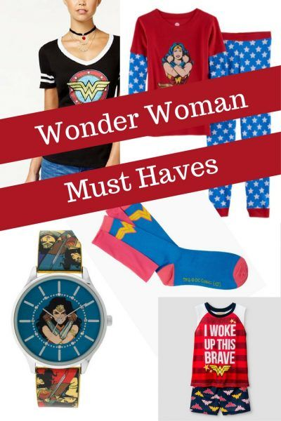 Wonder Woman Must Haves