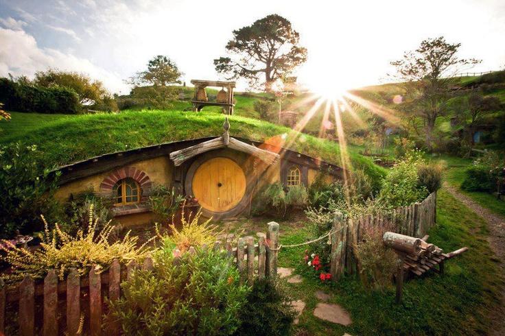 a very real hobbit house hobbit houses pinterest