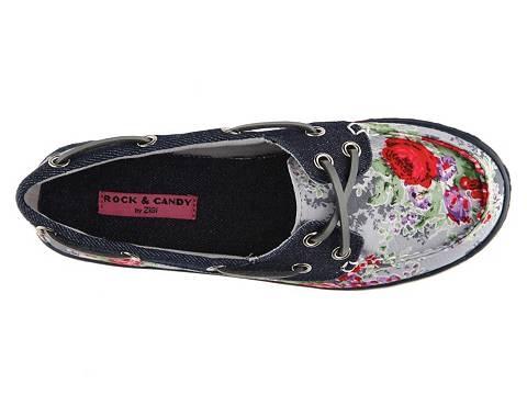 Rock & Candy Boatie Floral Boat Shoe Flats Women's Shoes - DSW