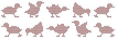 animaletti a punto croce - Cerca con Google