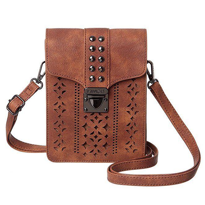 Crossbody Phone Purse Small Crossover Bag RFID Cellphone Wallet Purse Shoulder Bag Ladies Handbag Purse with 2 Straps