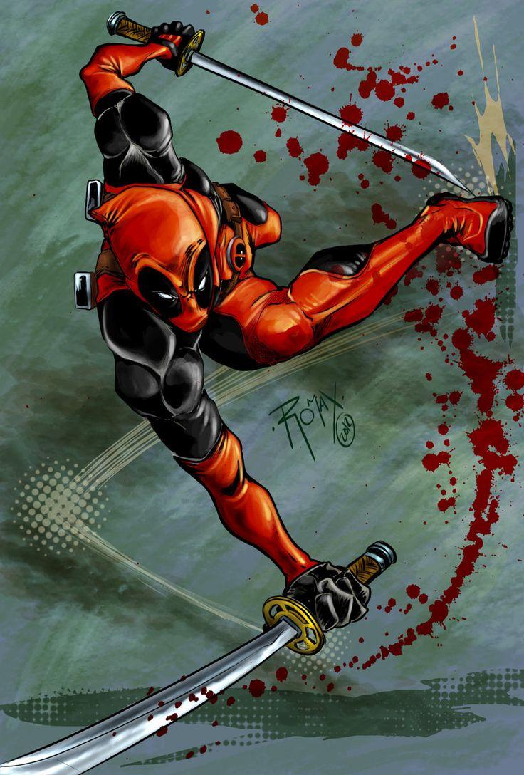Deadpool by ~Romax25