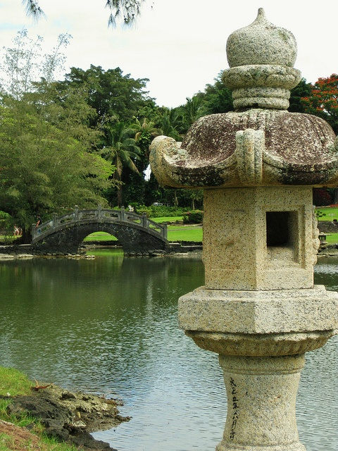 Queen Liliuokalani Gardens. Hilo, Hawaii.  There is beauty all over the island.  Let MacArthur Sotheby's International Realty show your sweet spot. bigislandreale.com --