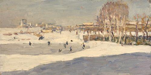 """""""Skating Rink"""", Mikhall Grebyekov"""