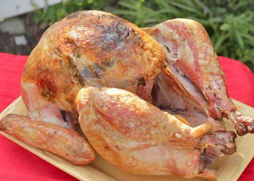 How to Cook a Frozen Turkey: How to Cook a Frozen Turkey Step 6 - Finishing Cooking the Turkey