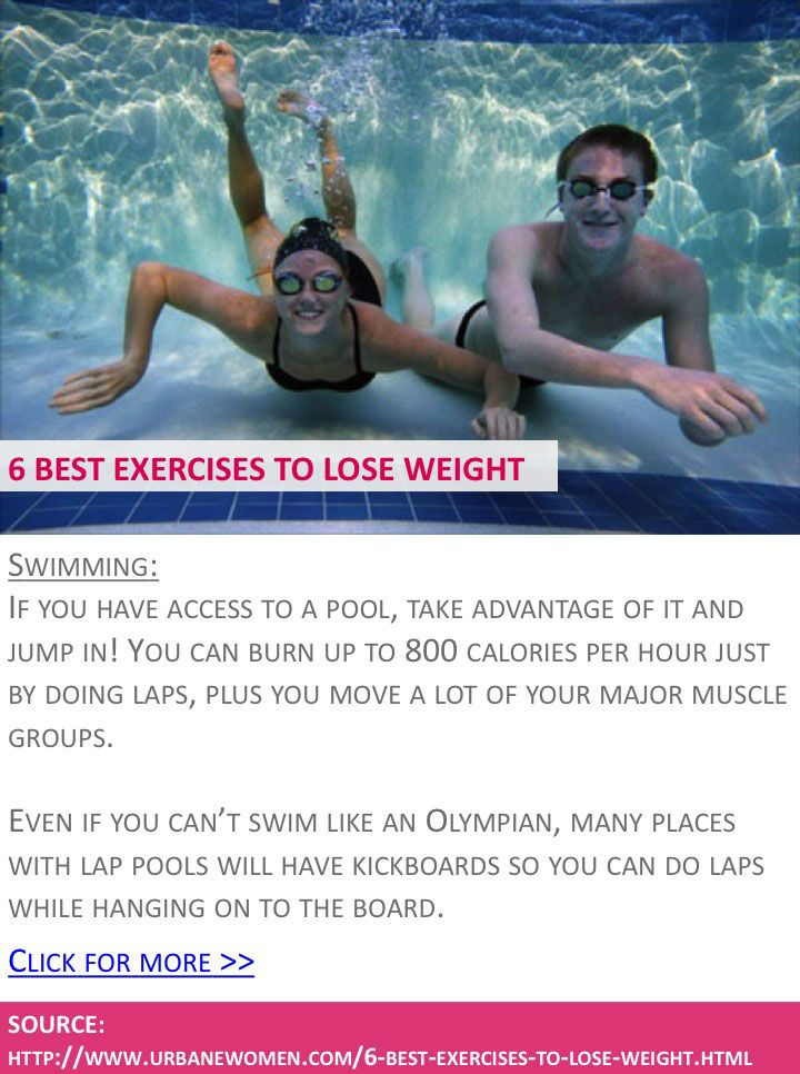 swimming workout routine to lose weight
