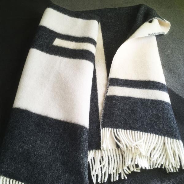 modern and luxury NZ wool blanket, forestrywool