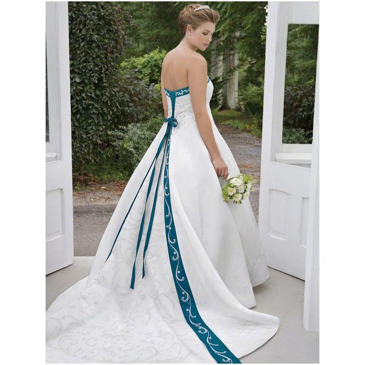 1000 ideas about denim wedding dresses on pinterest for Modest wedding dresses seattle