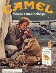 Resultado de imagen para publicidades antiguas de camel
